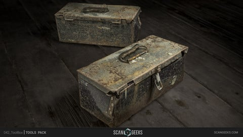 Tool Box - Photogrammetry Asset PhotoScan