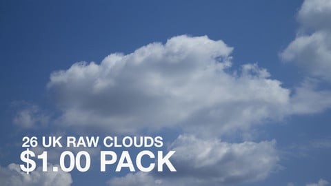 26 RAW UK Clouds Pack