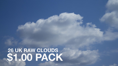 26 RAW UK Clouds Pack