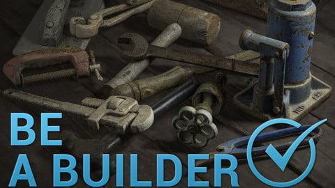 Construction Tools Pack Photogrammetry Assets