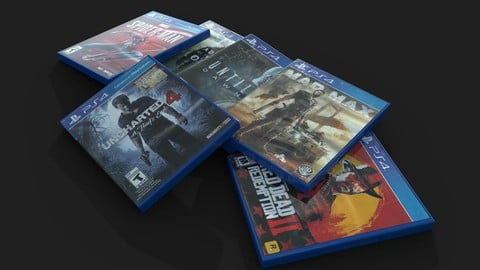PS4 Game Boxes
