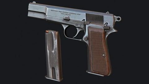 Free - PBR Pistol (Browning HP)