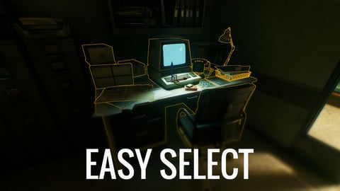 Easy Select - Mass Selection Tool For Unreal Engine
