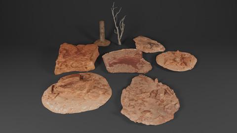 Desert Rocks and Trees Pack