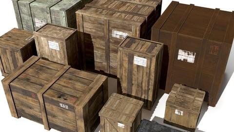 Transport crates Pack3