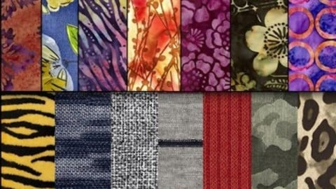 15 Free Seamless Fabric Textures for 3D Clothes (made from real materials)