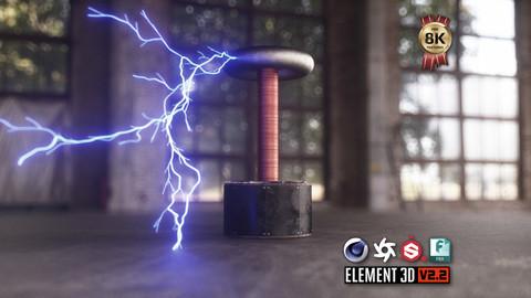 Tesla Coil 3D Model