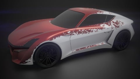 Smart Material - Diffuse Automotive Material