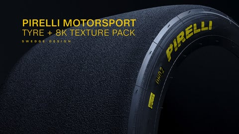 Pirelli Motorsport Slick Tires - Model and Texture Pack