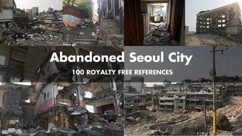 Abandoned Seoul City References Pack