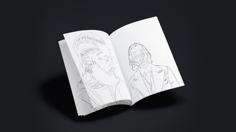 The Art Warriors Colouring Book