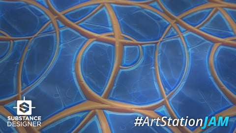 Substance Designer - Artstation Jam Material