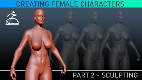 Sculpting Anatomy - ZBrush Tutorial