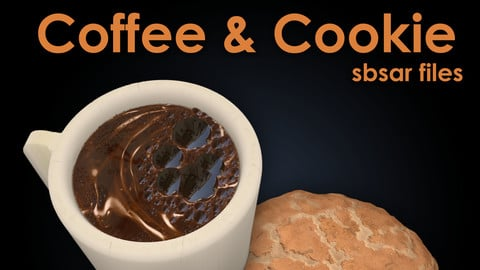 Coffee + Cookie Substance Materials