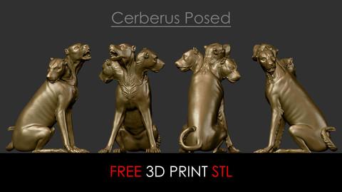FREE 3D Printing Bernini Dog Cerberus