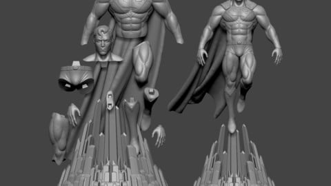 Superman-3D Printable