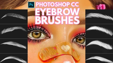 Eyebrow Brushes for Photoshop