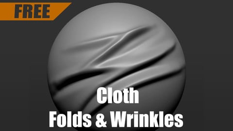 Cloth Wrinkles & Folds Brush