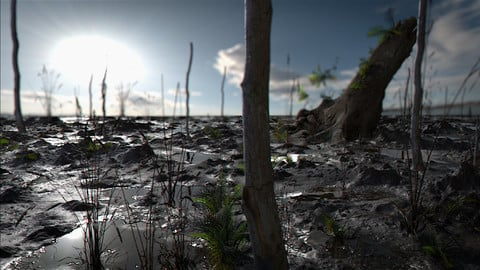 LookDev - Making PhotoRealistic Environment with Quxiel , Maya (Arnold Renderer) and Nuke
