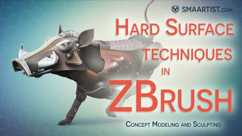 Hard Surface Techniques in ZBrush