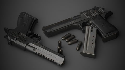 Gun Desert Eagle -free