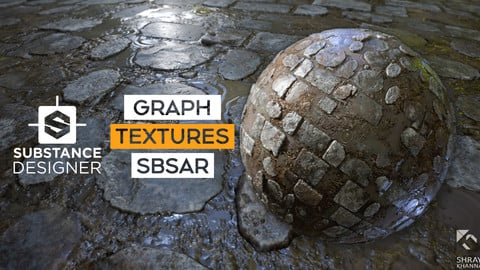 Substance Material I Textures I Wet Cobblestone Floor