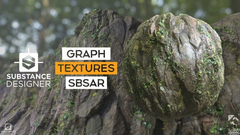 Substance Material I Textures I Jungle Overgrown Cliff