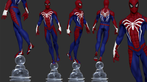 Spider-man PS4 Fanart - 3DPrint Ready