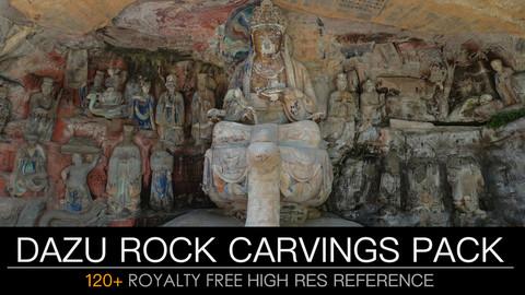 DAZU ROCK CARVINGS PACK