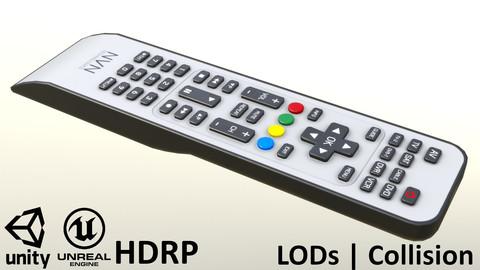 2000s TV Remote Control Gray