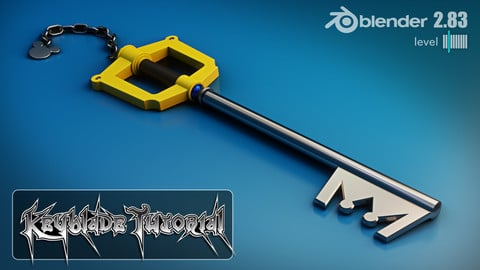 Keyblade Tutorial - Blender 2.83