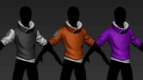 stylized sweater1 basemesh