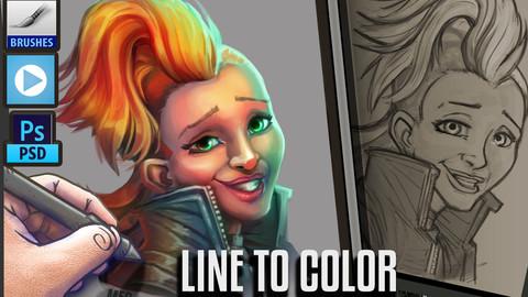 LINE TO COLOUR - LOL JINX !