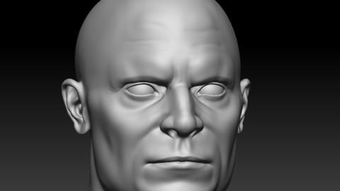 Head Male 2
