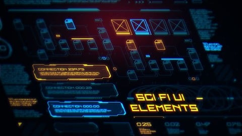 Sci Fi UI Elements