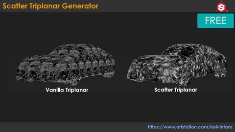 (SP) Scatter Triplanar Generator