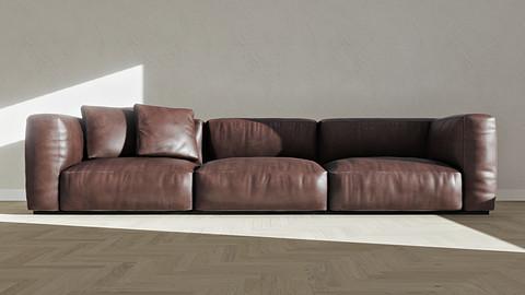 Sofa 01 / Furniture / 3D model