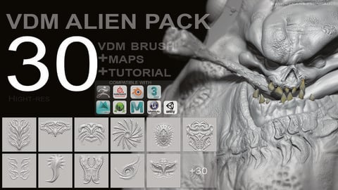 VDM - FULL ALIEN PACK [30+MAPS]