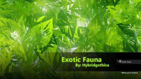 Exotic Fauna Brush.