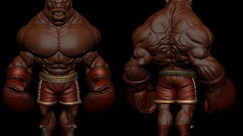 Base Boxer ... cartoon