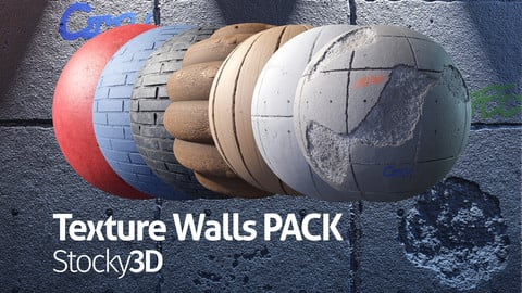 Texture Walls Pack - Stocky3D