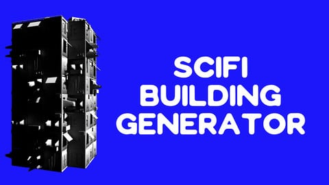 SciFi building generator