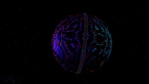 Scifi planet