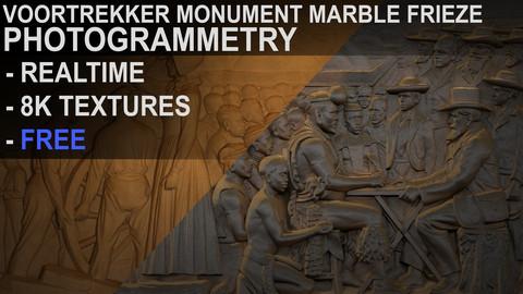 Voortrekker Monument Marble Relief