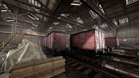 Industrial Rail and Warehouse Pack