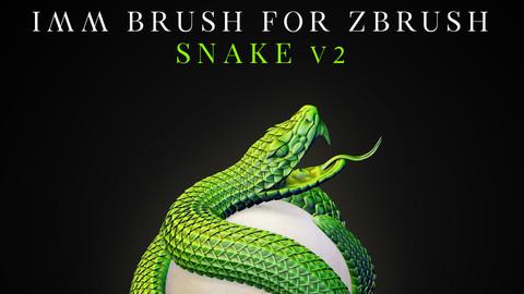 IMM Brush «Snake» V2 for Zbrush
