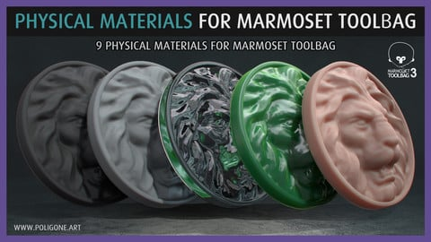 Poligone Physical Materials for Marmoset Toolbag
