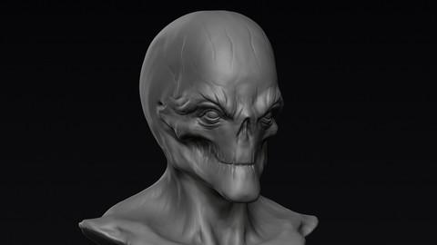 Alien Head 03