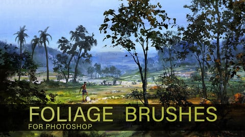 Eric Elwell's Foliage Brushes