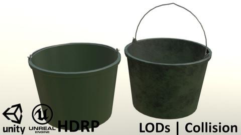 Plastic Garden Bucket